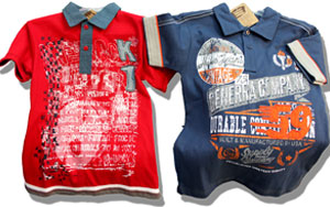 Children's T-shirts wholesale HELIO.