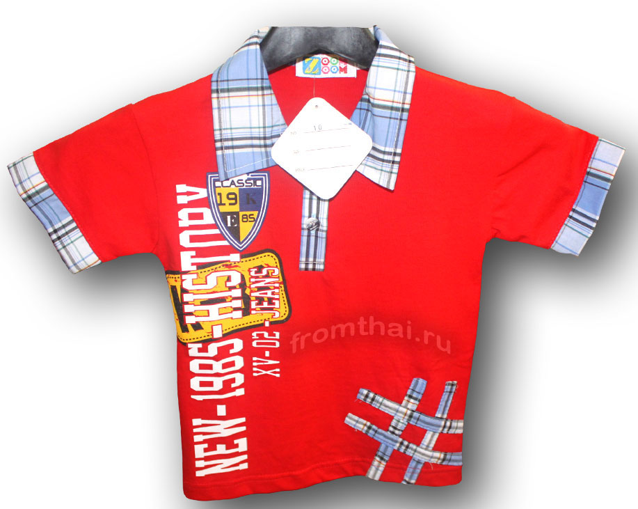 t-shirt for boy thailand